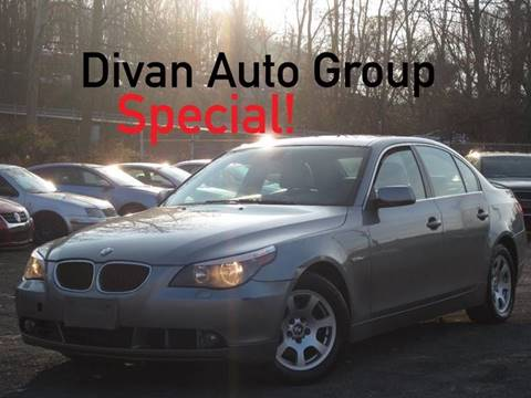 2004 BMW 5 Series for sale at Divan Auto Group in Feasterville PA