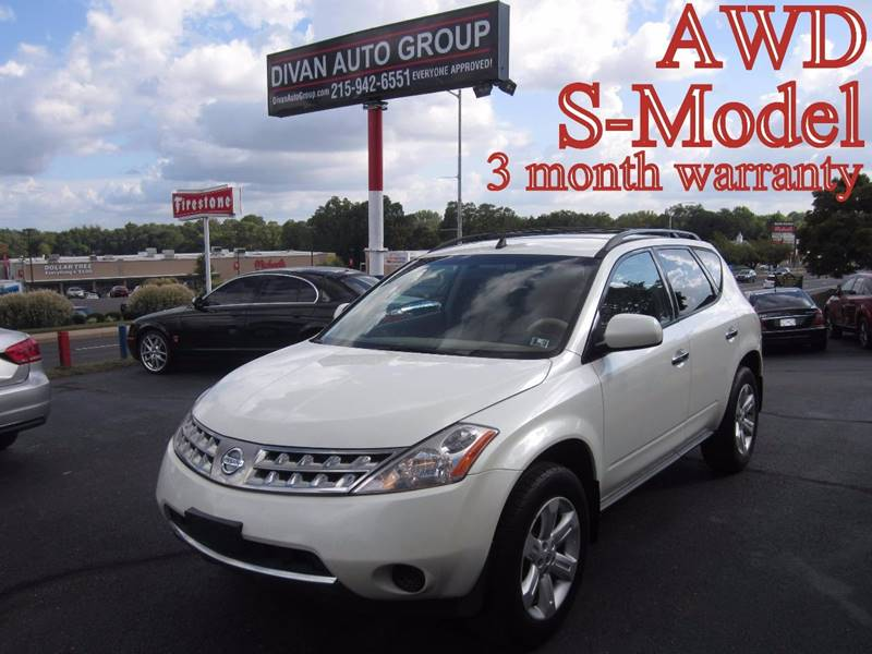 2006 nissan murano awd s 4dr suv in feasterville pa divan auto group rh divanautogroup com 2006 Nissan Murano SE Review 2006 Nissan Murano Parts Diagram