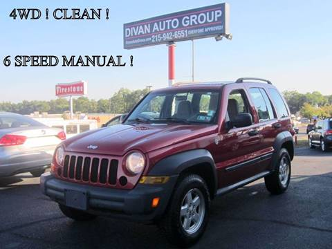 2006 Jeep Liberty for sale at Divan Auto Group in Feasterville PA