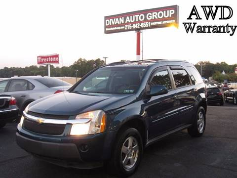 2006 Chevrolet Equinox for sale at Divan Auto Group in Feasterville PA