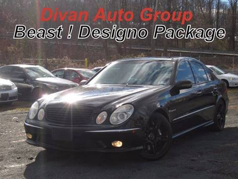 2005 Mercedes-Benz E-Class for sale at Divan Auto Group in Feasterville PA
