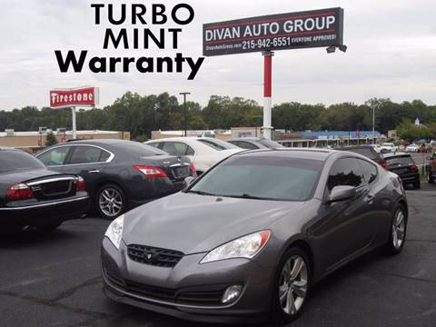 2010 Hyundai Genesis Coupe for sale in Feasterville, PA