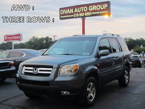2006 Honda Pilot for sale at Divan Auto Group in Feasterville PA