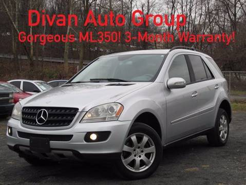 2006 Mercedes-Benz M-Class for sale at Divan Auto Group in Feasterville Trevose PA