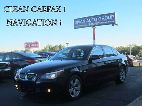 2007 BMW 5 Series for sale at Divan Auto Group in Feasterville PA
