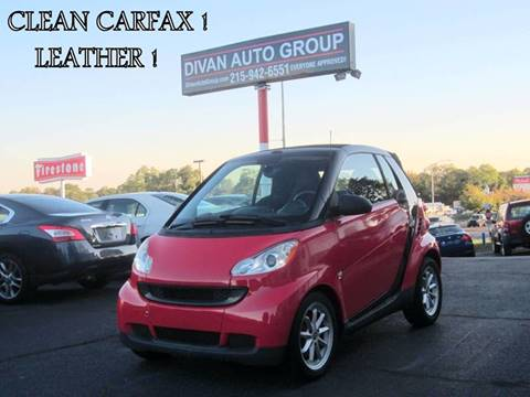 2009 Smart fortwo for sale at Divan Auto Group in Feasterville PA