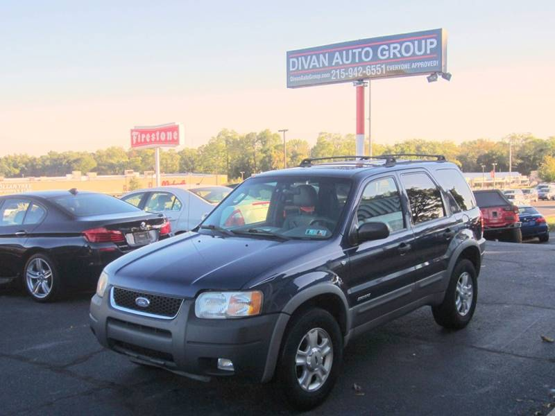 2002 Ford Escape for sale at Divan Auto Group in Feasterville PA