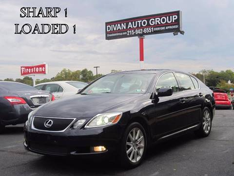 2007 Lexus GS 350 for sale at Divan Auto Group in Feasterville PA