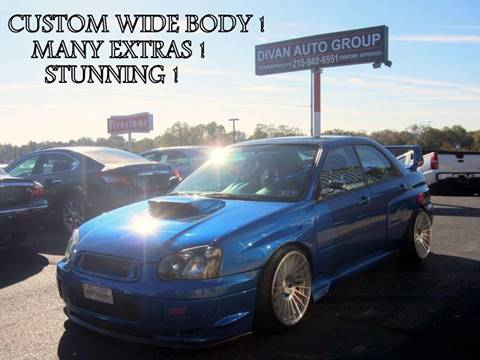 2005 Subaru Impreza for sale at Divan Auto Group in Feasterville PA