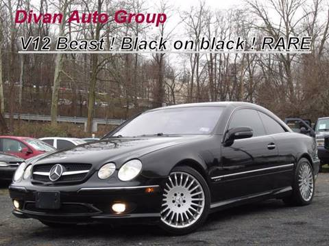 2002 Mercedes-Benz CL-Class for sale at Divan Auto Group in Feasterville PA