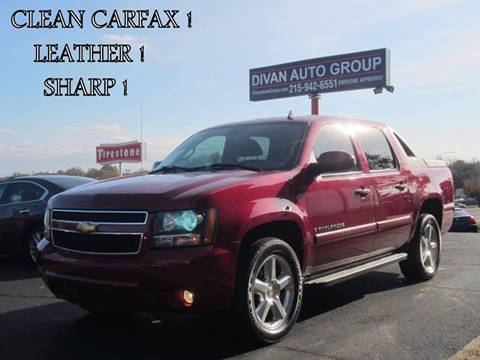 2007 Chevrolet Avalanche for sale at Divan Auto Group in Feasterville PA
