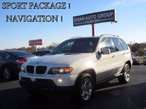 2005 BMW X5 for sale at Divan Auto Group in Feasterville PA