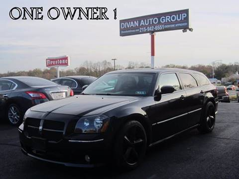 2006 Dodge Magnum for sale at Divan Auto Group in Feasterville PA