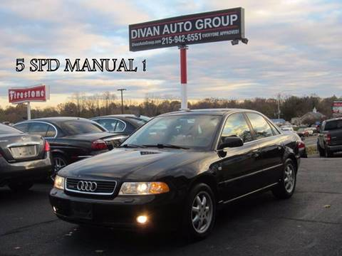 1999 Audi A4 for sale at Divan Auto Group in Feasterville PA