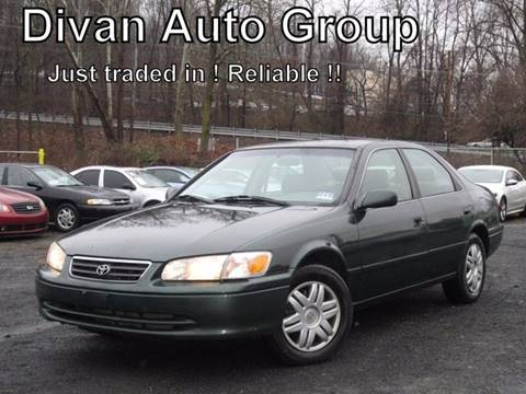 2001 Toyota Camry for sale at Divan Auto Group in Feasterville PA