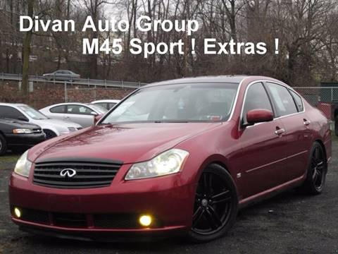 2006 Infiniti M45 for sale at Divan Auto Group in Feasterville PA