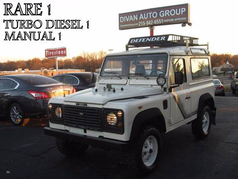 1991 Land Rover Defender for sale at Divan Auto Group in Feasterville PA