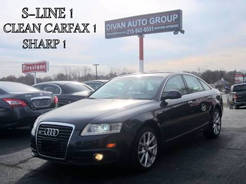 2011 Audi A6 for sale at Divan Auto Group in Feasterville PA