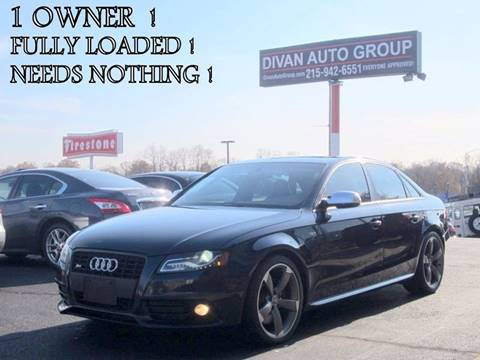 2011 Audi S4 for sale at Divan Auto Group in Feasterville Trevose PA