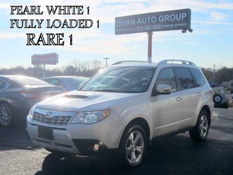 2011 Subaru Forester for sale at Divan Auto Group in Feasterville PA
