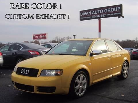 2004 Audi S4 for sale at Divan Auto Group in Feasterville PA