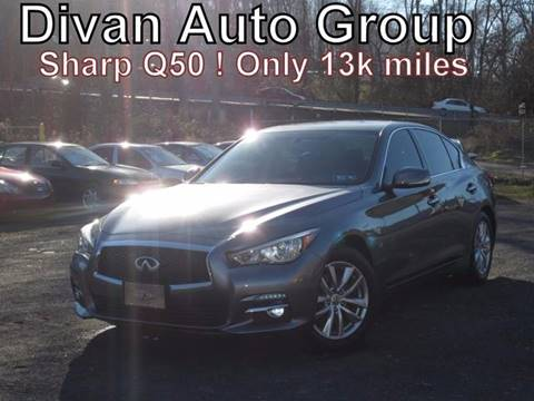 2014 Infiniti Q50 for sale at Divan Auto Group in Feasterville PA