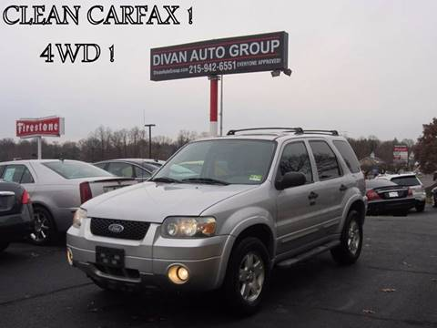 2007 Ford Escape for sale at Divan Auto Group in Feasterville PA
