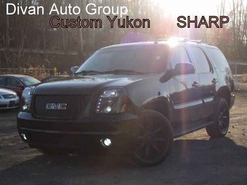 2007 GMC Yukon for sale at Divan Auto Group in Feasterville PA