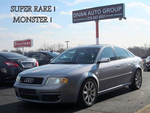 2003 Audi RS 6 for sale at Divan Auto Group in Feasterville PA