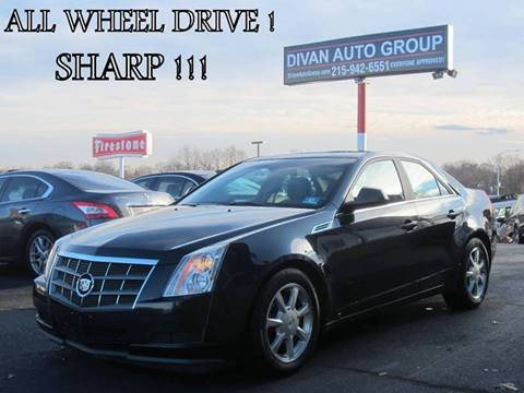 2009 Cadillac CTS for sale at Divan Auto Group in Feasterville Trevose PA
