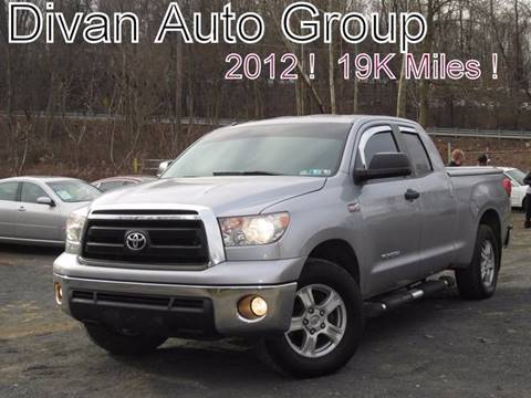 2012 Toyota Tundra for sale at Divan Auto Group in Feasterville PA