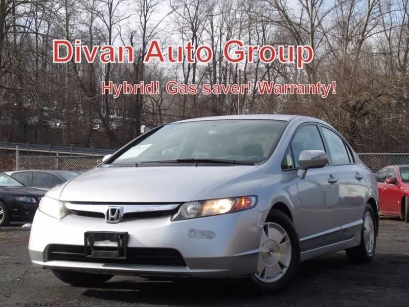 2007 Honda Civic Hybrid 4dr Sedan w/Navi In Feasterville PA - Divan ...