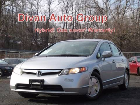 2007 Honda Civic for sale at Divan Auto Group in Feasterville PA