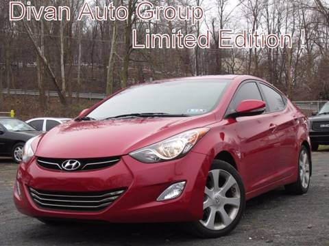 2013 Hyundai Elantra for sale at Divan Auto Group in Feasterville PA