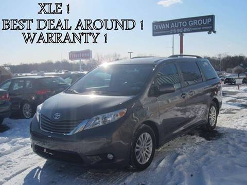 2011 Toyota Sienna for sale at Divan Auto Group in Feasterville PA