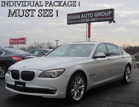 2010 BMW 7 Series for sale at Divan Auto Group in Feasterville PA