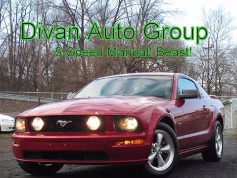 2005 Ford Mustang for sale at Divan Auto Group in Feasterville PA