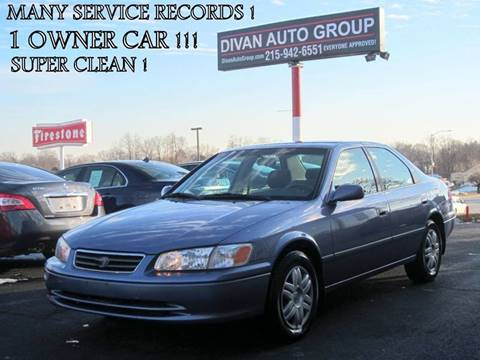 2000 Toyota Camry for sale at Divan Auto Group in Feasterville Trevose PA