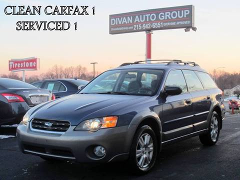2005 Subaru Outback for sale at Divan Auto Group in Feasterville Trevose PA