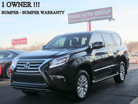 2015 Lexus GX 460 for sale at Divan Auto Group in Feasterville PA