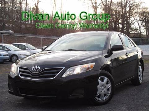 2010 Toyota Camry for sale at Divan Auto Group in Feasterville PA