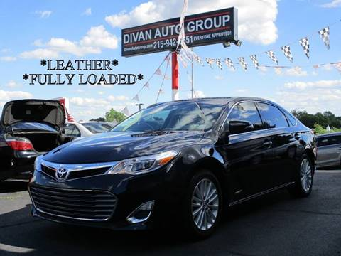 2014 Toyota Avalon Hybrid for sale at Divan Auto Group in Feasterville PA