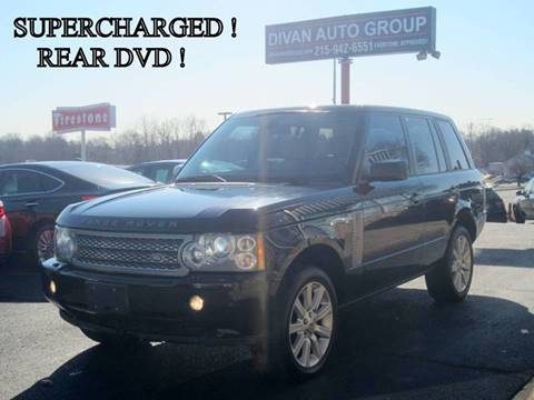 2006 Land Rover Range Rover for sale at Divan Auto Group in Feasterville PA