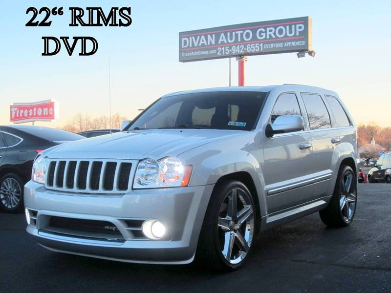 2006 jeep grand cherokee srt8 4dr suv 4wd w front side airbags in feasterville pa divan auto. Black Bedroom Furniture Sets. Home Design Ideas