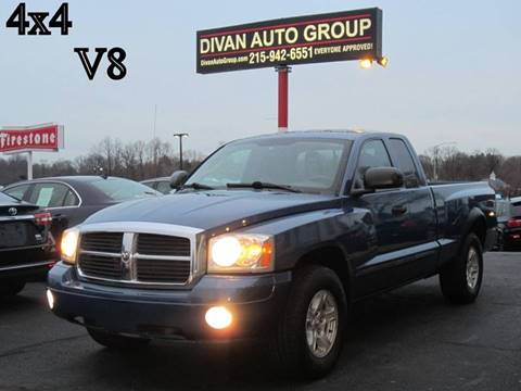 2006 Dodge Dakota for sale at Divan Auto Group in Feasterville PA