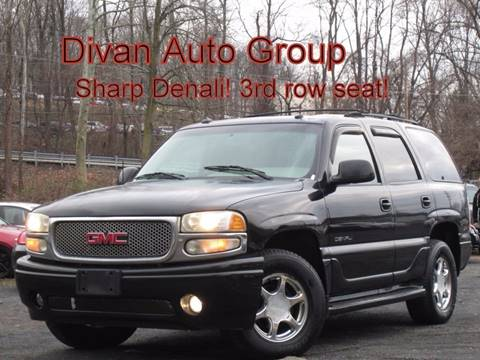 2003 GMC Yukon for sale at Divan Auto Group in Feasterville PA