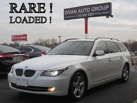 2008 BMW 5 Series for sale at Divan Auto Group in Feasterville PA