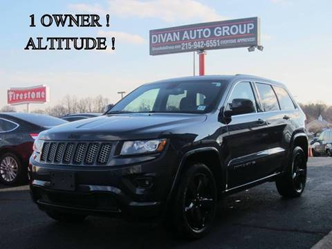 2015 Jeep Grand Cherokee for sale at Divan Auto Group in Feasterville PA