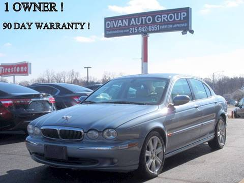 2003 Jaguar X-Type for sale at Divan Auto Group in Feasterville PA