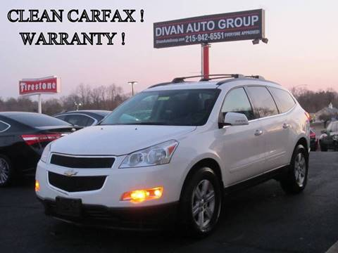 2011 Chevrolet Traverse for sale at Divan Auto Group in Feasterville PA